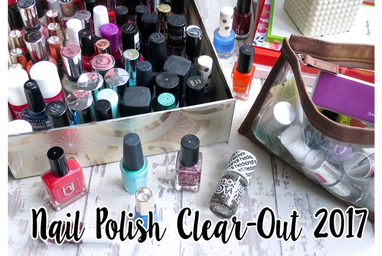 Nail Polish clear Out 2017