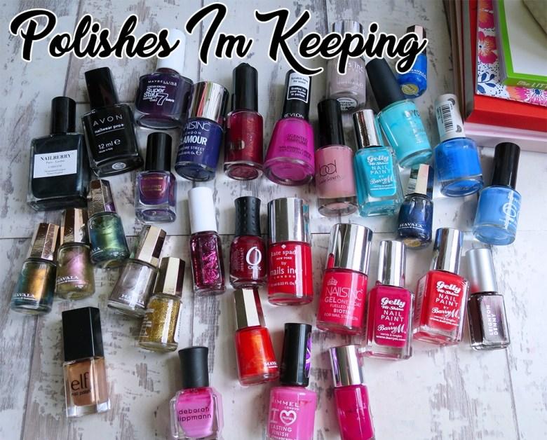 Nail Polishes Im Keeping
