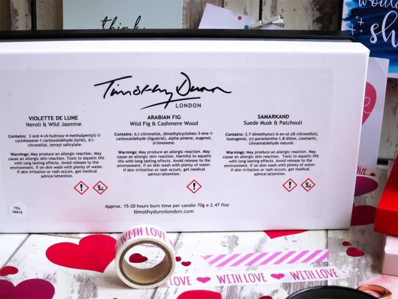 Timothy Dunn Luxury Candle Collection