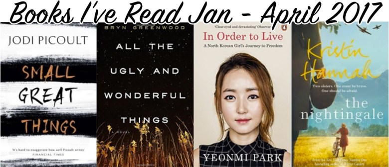Most Recent Books Read in 2017