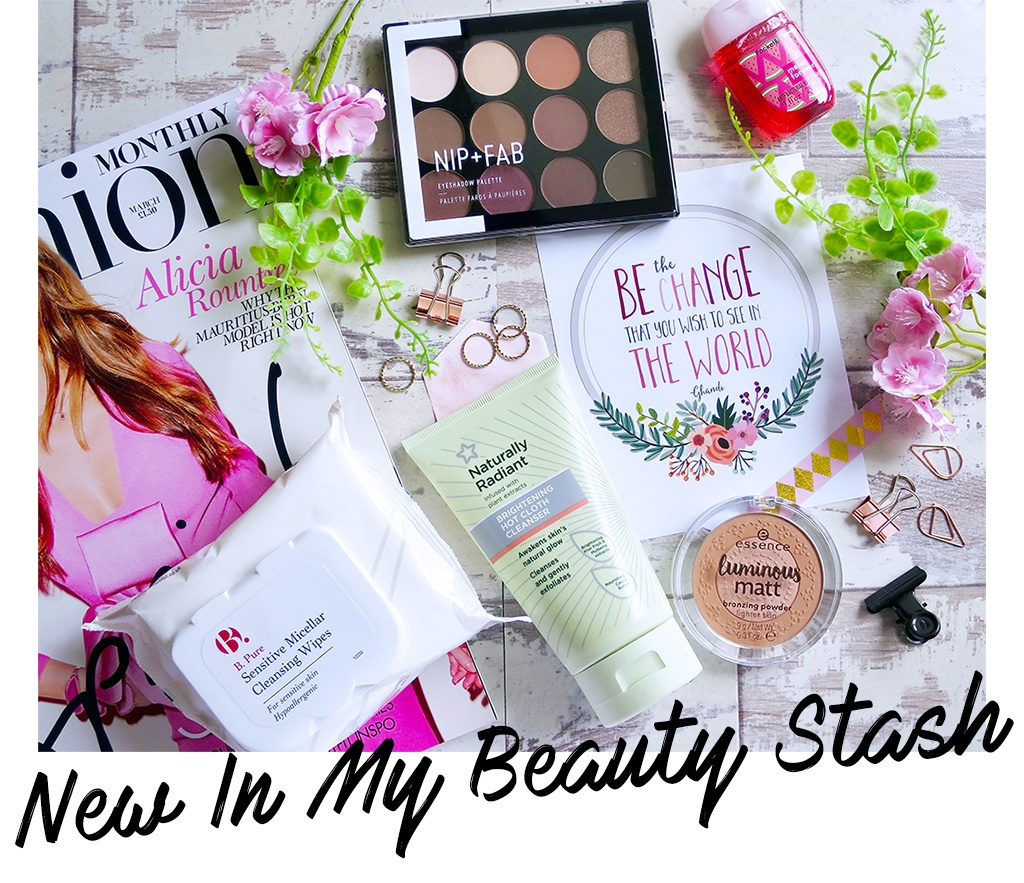 new in my beauty stash May 2017