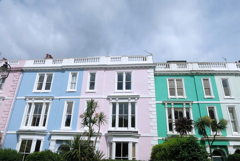 pretty painted houses plymouth