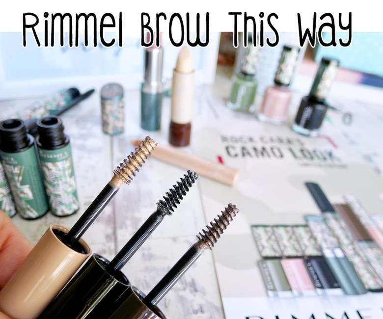 Rimmel Brow This Way Camo Collection