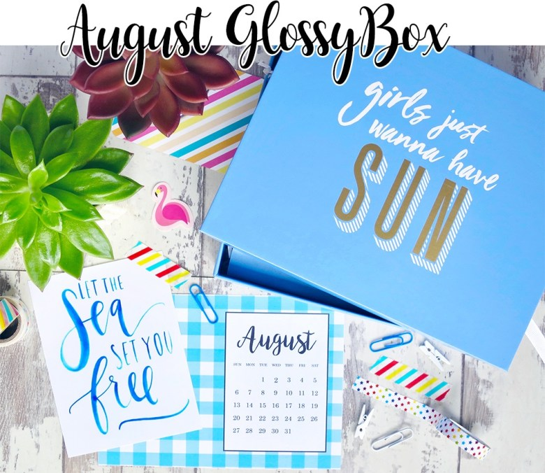 August 2017 GlossyBox