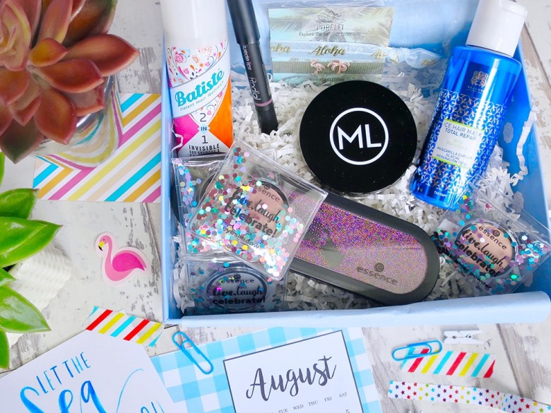 Girls Just Want to-have Sun August Glossybox