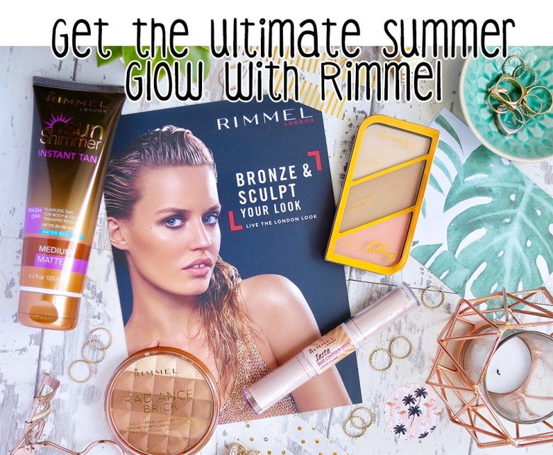Rimmel bronzing makeup products