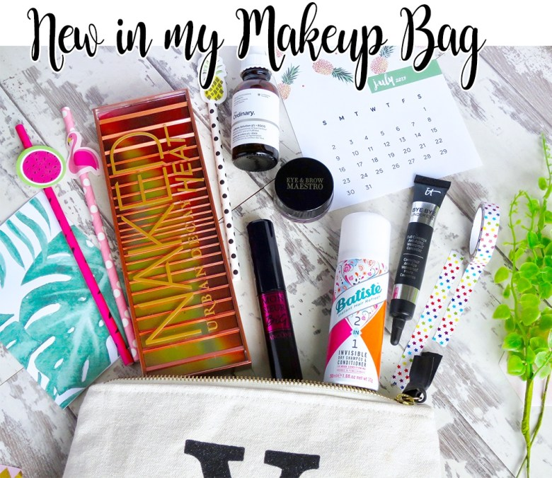 New products in my makeup bag 2017