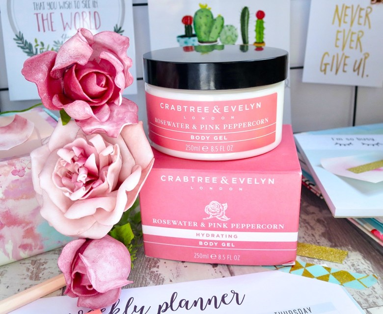 Crabtree Evelyn Rosewater Pink Peppercorn Body Gel