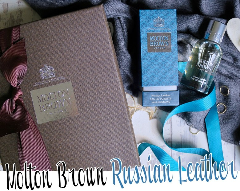New Molton Brown Russian Leather Collection