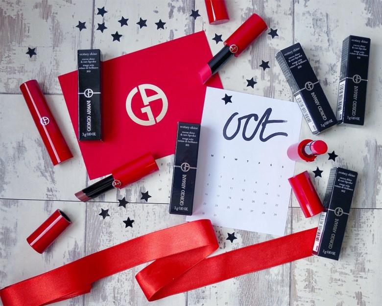 New Armani Lipsticks