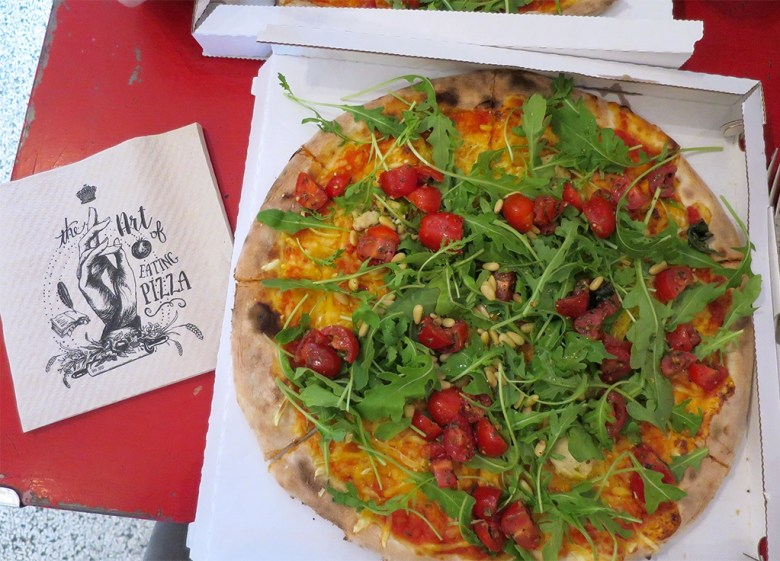 Amsterdam Vegan Pizza from Mastino