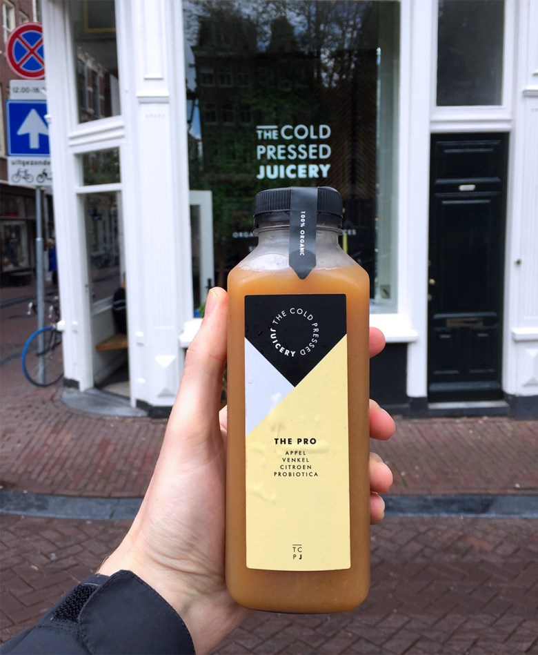 healthy cold press juicery