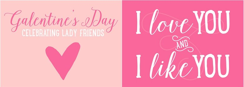 Galentines Day Free Printables