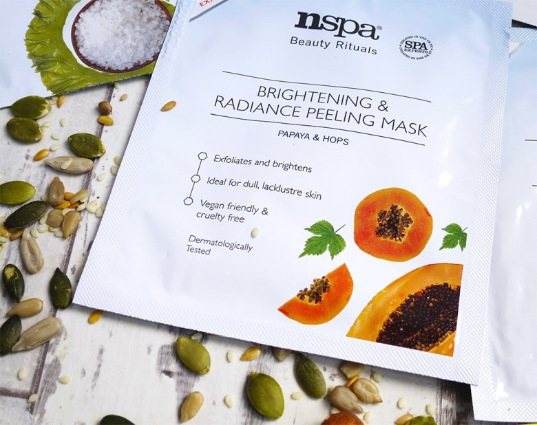 Papaya and hops nspa beauty face mask