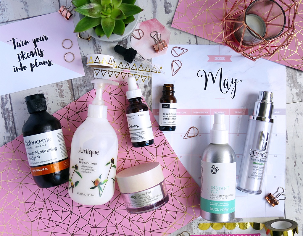 Beauty and Skincare Product Empties May 2018
