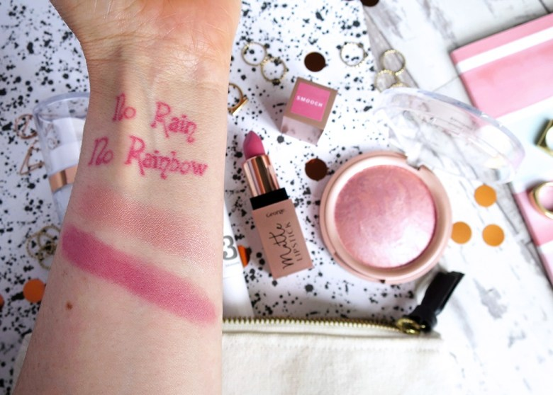 Pretty Pink Makeup From ASDA George