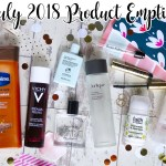 Beauty Product Empties July 2018