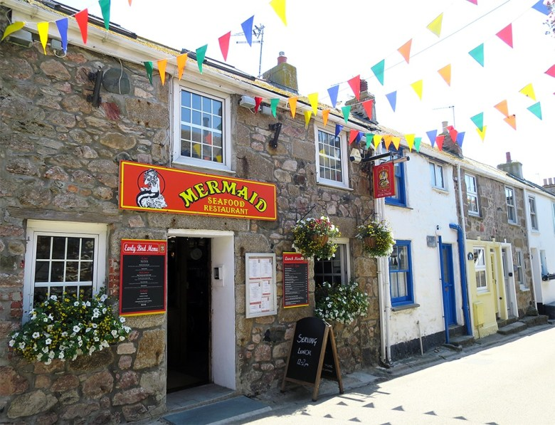 Mermaid Seafood Restaurant St Ives