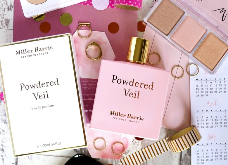Miller Harris Powdered Veil Matte Pink Bottle
