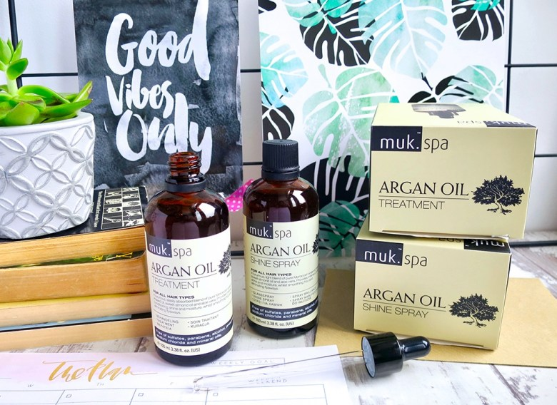 Muk Spa Argan Oil Range