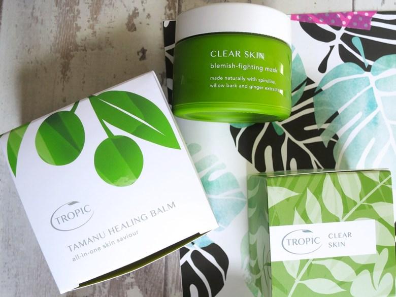 Clear Skin Blemish Mask Tropic Skincare
