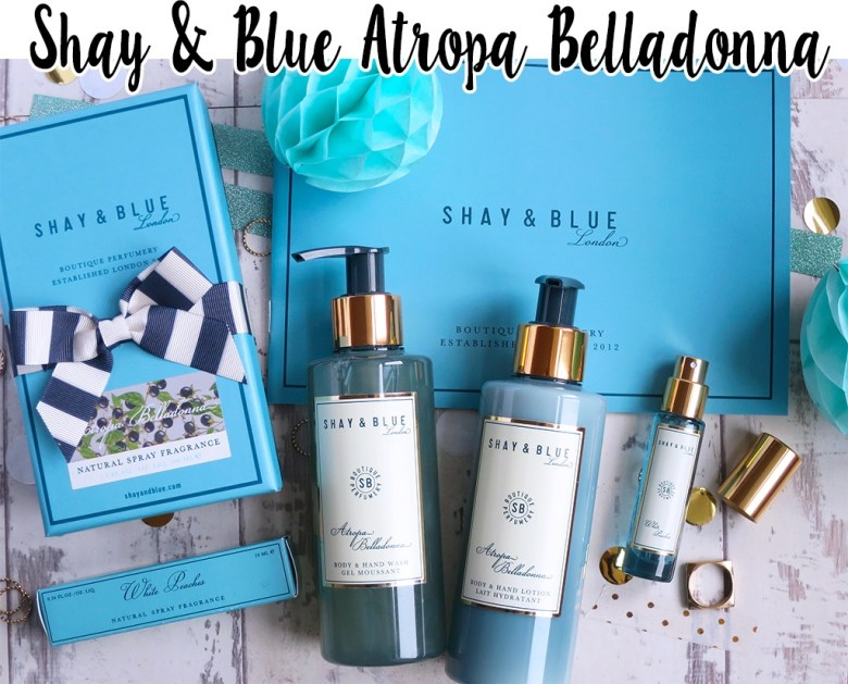 Shay & Blue Atropa Belladonna Fragrance Collection for QVC TSV