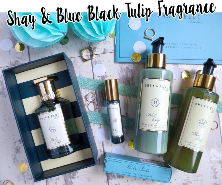 Shay and Blue Four Piece Fragrance Collection for QVC TSV October 2018