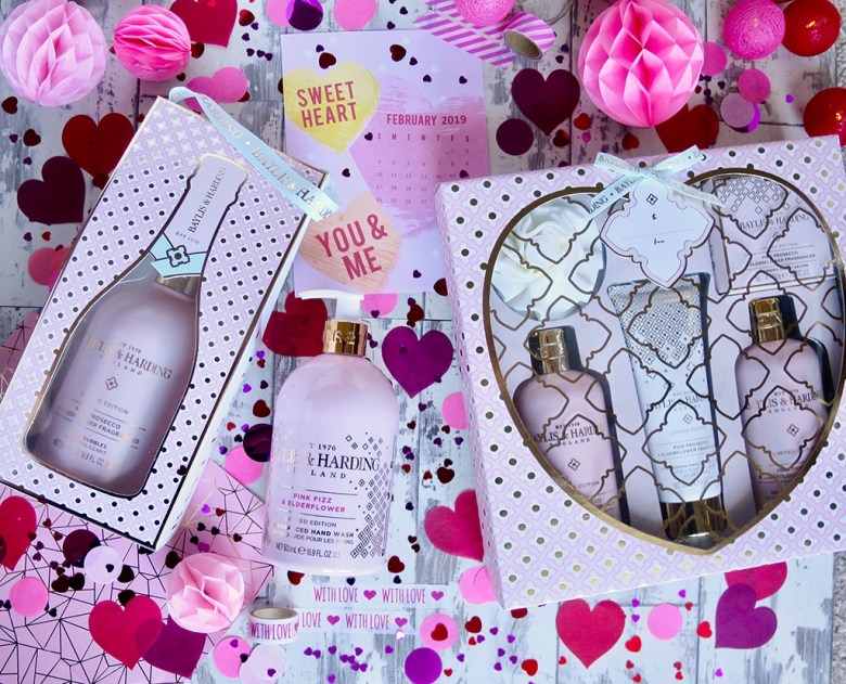 Baylis and Harding Pink Prosecco and Elderflower Collection