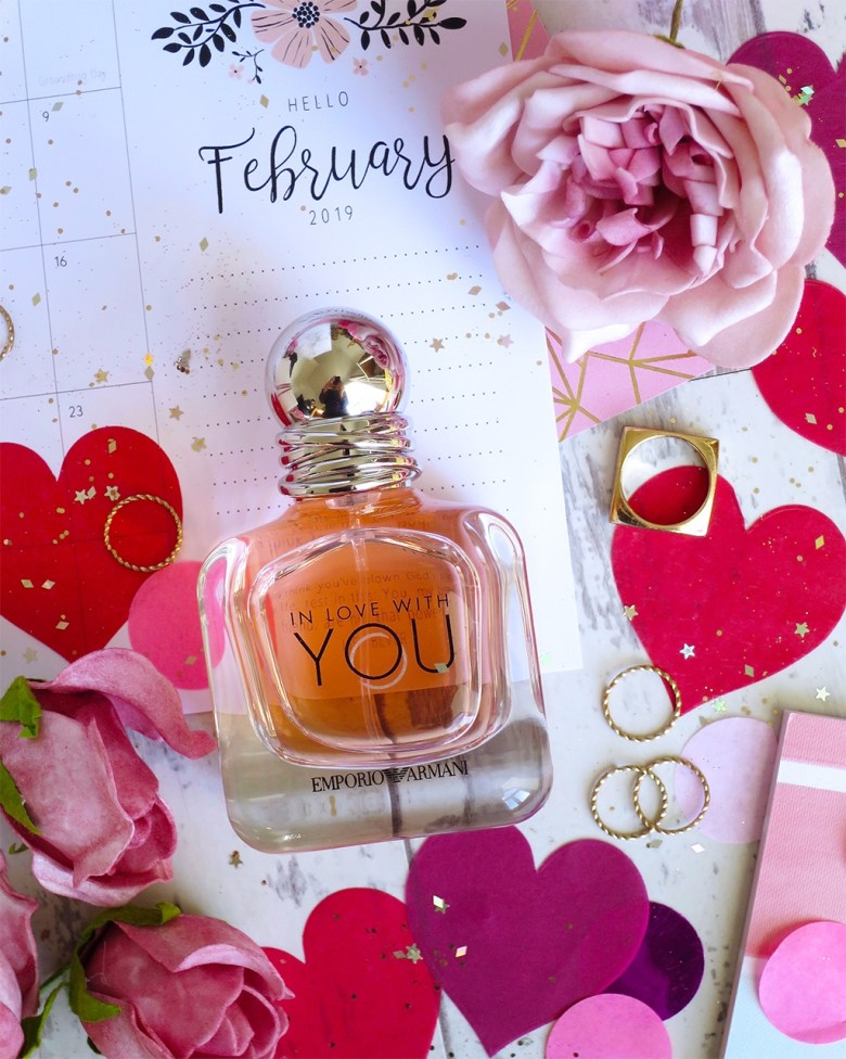 New Armani Perfume for 2019. In Love with You EDP