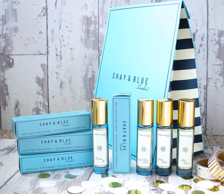 Shay & Blue QVC TSV 4 Piece Fragrance Collection