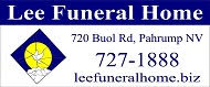 Lee Funeral Home signature & logo