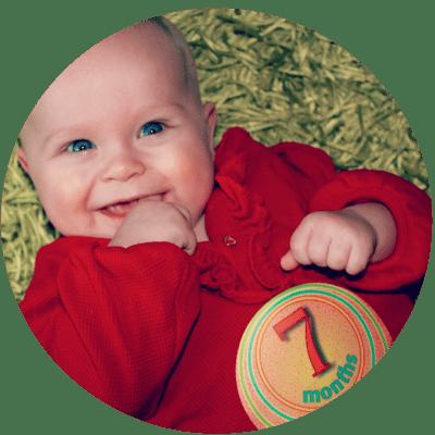 Missy Moo's Milestones: 7 months old