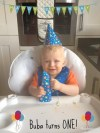 Buba's 1st birthday