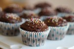 chocolate cupcakes free from