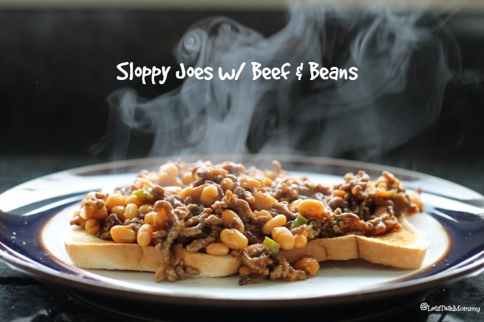 Sloppy Joes with Beef & Beans Recipe