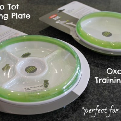 Oxo Tot Plate Review & Giveaway