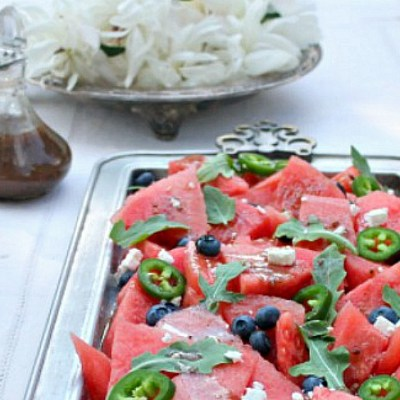Balsamic Watermelon Salad | Quick And Easy Summer Recipe