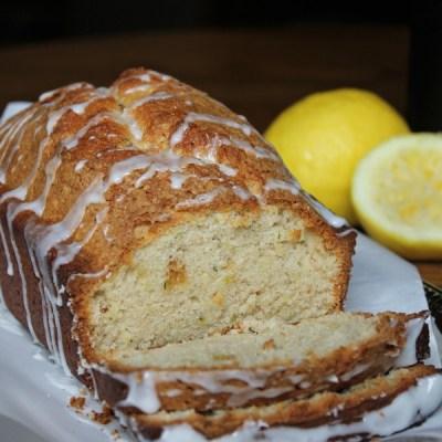 Zucchini Bread with a Lemon Glaze Recipe