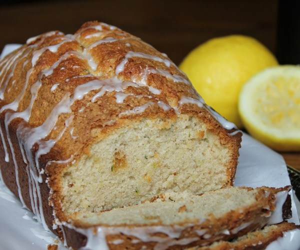 Zucchini Bread with a Lemon Glaze Recipe