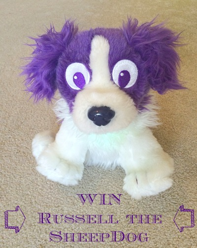 Russell the light up Sheepdog  Toddler sleeping aid