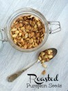 Halloween Roasted Pumpkin Seeds Recipe