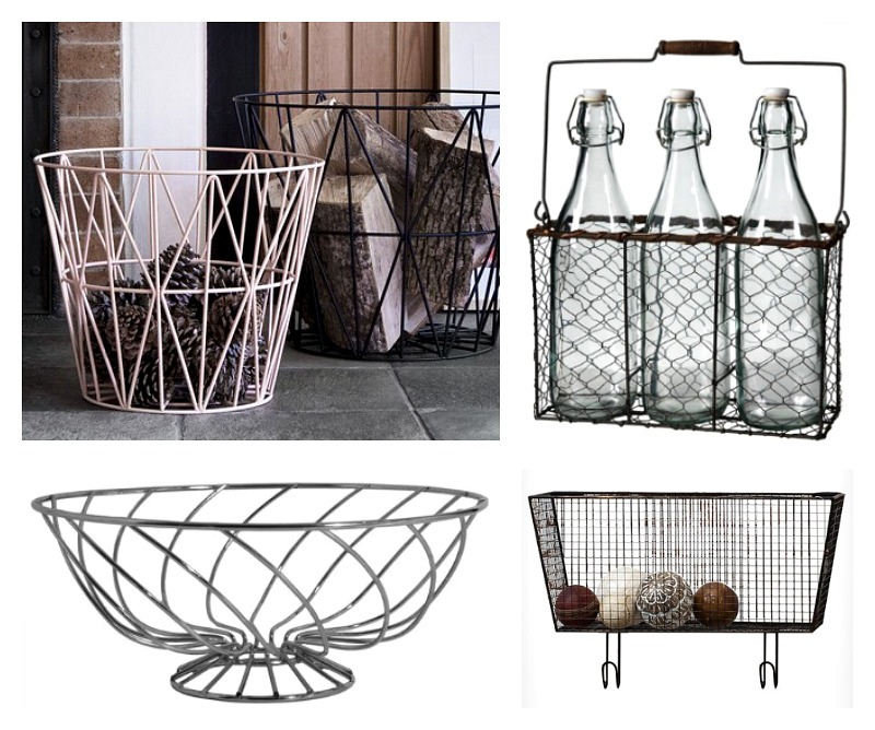 wire basket storage wayfair