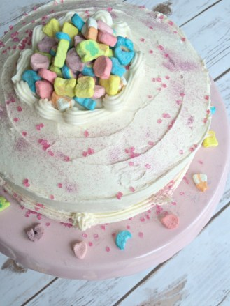 Lucky Charms Cake Recipe Birthday Cake
