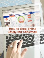 christmas shopping online safely