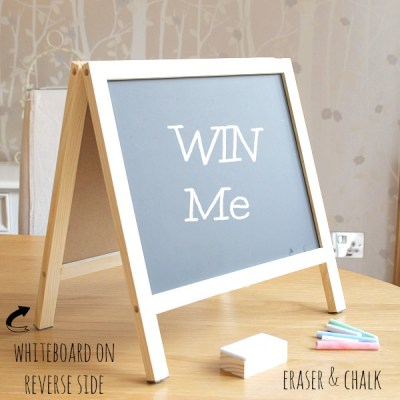 Whiteboard Chalkboard Easel Giveaway