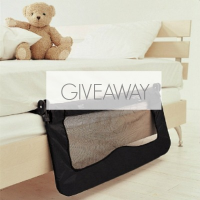 Safetots Bed rails Giveaway