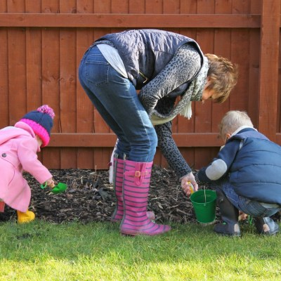 Gardening with Granny #ordinarymoments