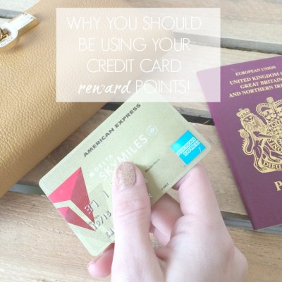 Why you should be using those credit card perks!