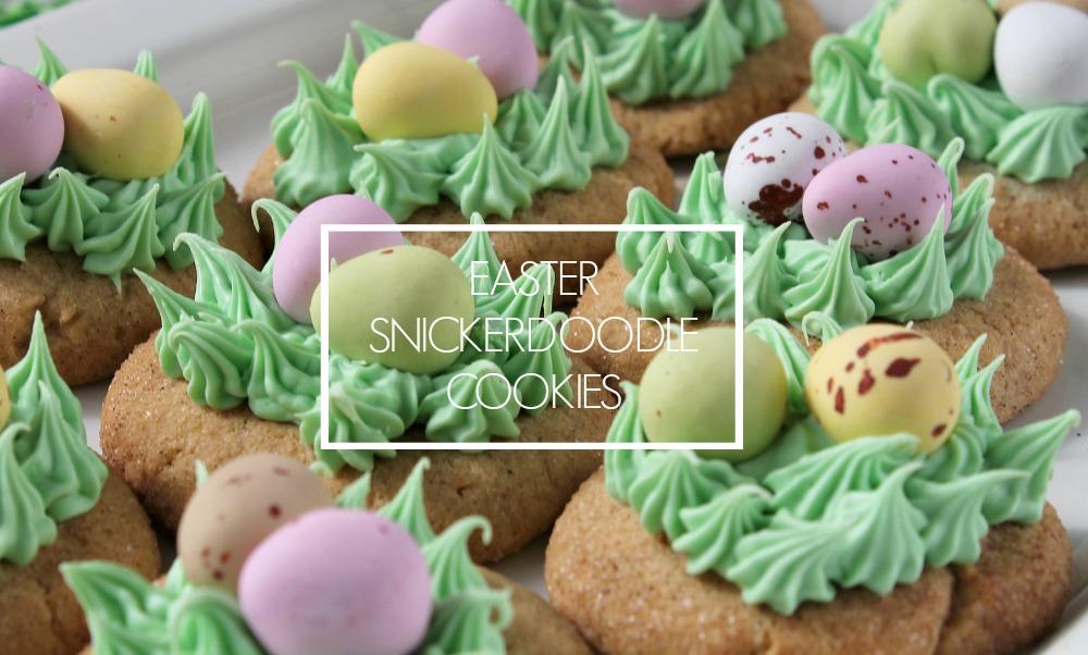 Easter Snickerdoodle Cookie Recipe