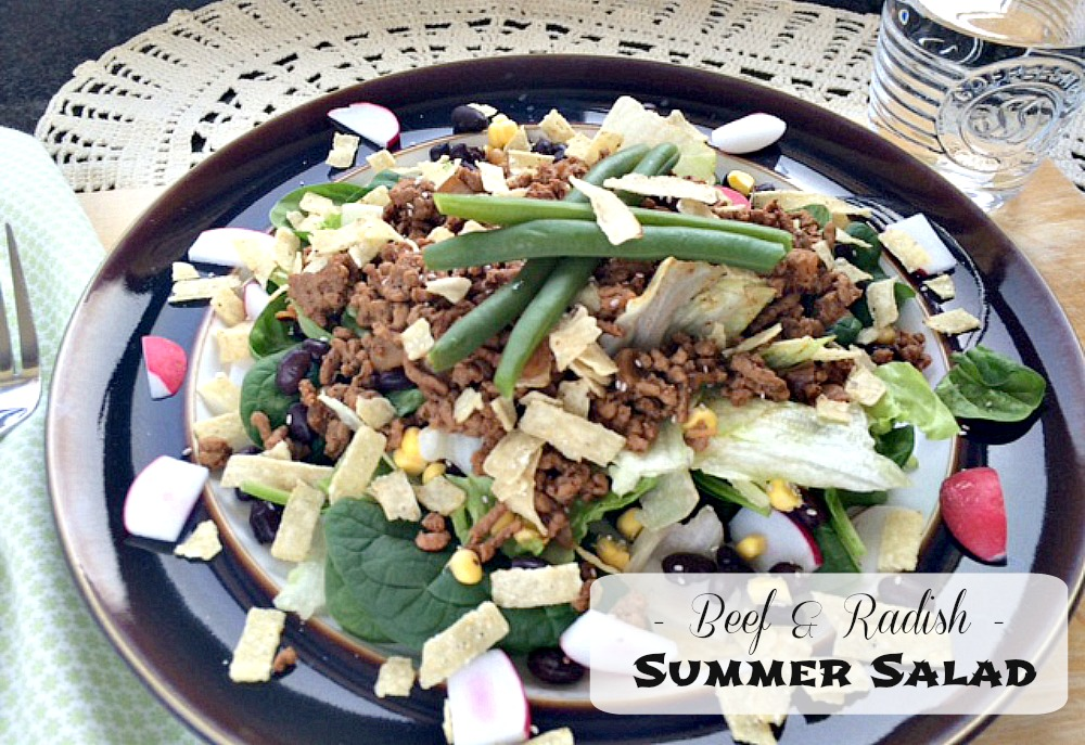 Beef Radish Salad Recipe oxo Good Grips Frying Pan Giveaway